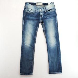 BKE Stella Straight Leg Jeans Size 26  Short